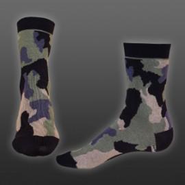Ponožky Styx Crazy H327 maskáč