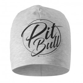 PitBull West Coast - zimní čepice PB INSIDE  - šedá