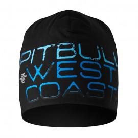 PitBull West Coast - zimní čepice BLUE EYED DEVIL X  - černá