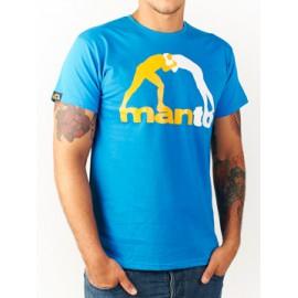 Tričko MANTO CLASSIC - modré