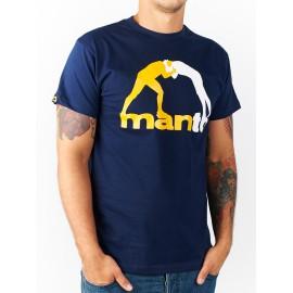 Tričko MANTO CLASSIC - navy