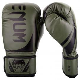 Boxerské rukavice VENUM CHALLENGER 2.0 -  zeleno/černé