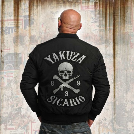 Yakuza bunda Sicario JB 10075 - černá