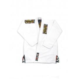 "MANTO Dámské kimono ""FLORAL"" BJJ GI - bílé"