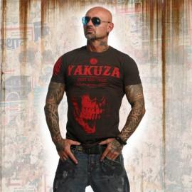 Pánské tričko YAKUZA DAILY SKULL TSB 11045 - černé