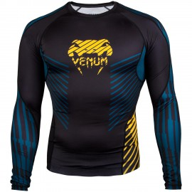 Rashguard VENUM PLASMA  Dl. rukáv - černo/žlutý