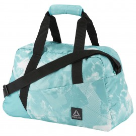 Sportovní taška Reebok GRAPHIC PRINT GRIP - světle modrá