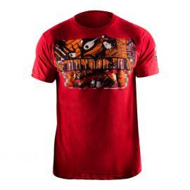 Tričko HAYABUSA Samurai - červené