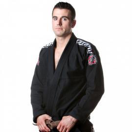 BJJ kimono Gi Tatami fightwear Nova Plus černé + bílý pás zdarma