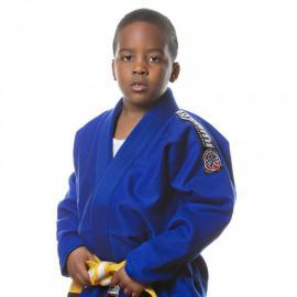 Dětské kimono na BJJ NOVA - modré