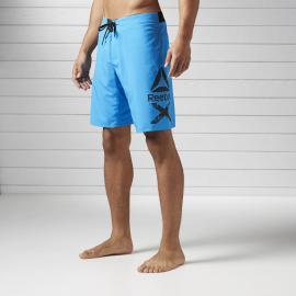 Reebok Pánské šortky 2-IN-1 - modré