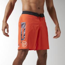 Reebok Pánské šortky CROSSFIT SUPER NASTY - oranžové