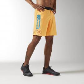 Reebok Pánské šortky CROSSFIT SUPER NASTY - žluté