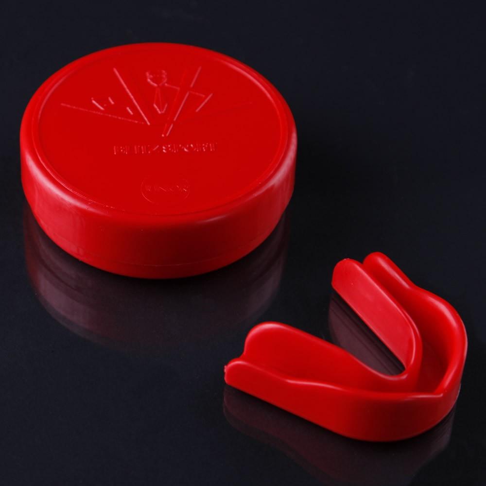 Chránič zubů Blitzsport - červený