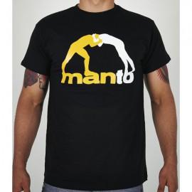 Tričko MANTO CLASSIC - černé
