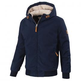 PitBull West Coast - zimní bunda ELKWOOD tmavě modrá