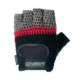Fitness rukavice ATHLETIC CHIBA - černo/šedé