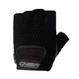 Fitness rukavice ATHLETIC CHIBA - černé
