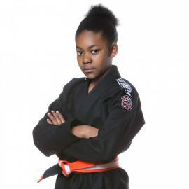 Dětské kimono na BJJ NOVA - černé