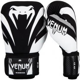 Boxerské rukavice VENUM  IMPACT - černo/bílé
