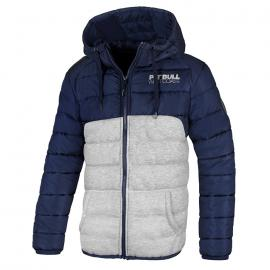 Zimní bunda PitBull West Coast TAMARAND tmavě modrá/šedá