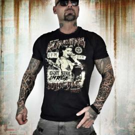 Yakuza tričko pánske RUNNING OUT OF TIME TSB 7014 black