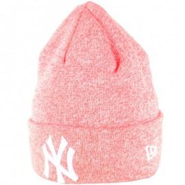 Kulich NEW ERA MLB Essentials Cuff Knit pink/white