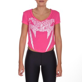 Dámské tričko VENUM Assault - růžové