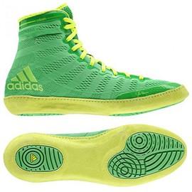 "ADIDAS Wrestling boty ""Adizero Wrestling"" - neonově zelené"