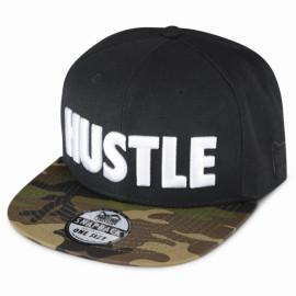 """Pánská Kšiltovka Phantom """"Hustle"""" - černo/maskáčová"""