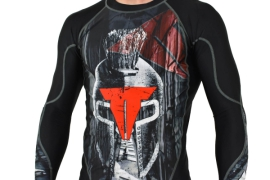 Throwdown Rashguard Warrior - černý
