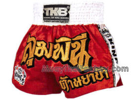 Thai trenýrky TOP KING red white