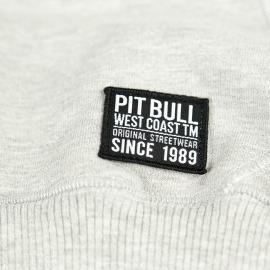 PitBull West Coast - Crew mikina CLASSIC LOGO šedá