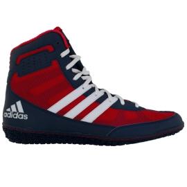ADIDAS Zápasnické boty Mat Wizard.3 modro-červené