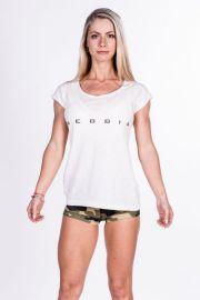 Dámské triko Nebbia 277 - bílé