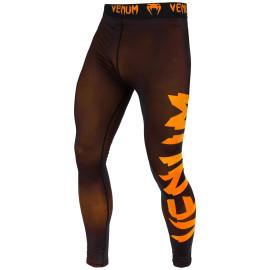 Legíny VENUM Giant - černo/NEO oranžové