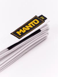 MANTO BJJ pásek - bílý
