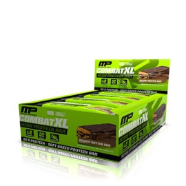 MusclePharm Combat XL Bars - brownie