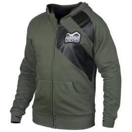 """Pánská mikina Phantom na zip """"Elite""""- zelená"""