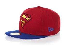 Kšiltovka New Era 5950 Basic Superman červená