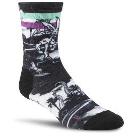 Reebok Ponožky CROSSFIT W PRI CREW SO - černé