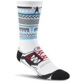 Reebok Ponožky CROSSFIT ENGINEERED UNISEX CREW - bílé