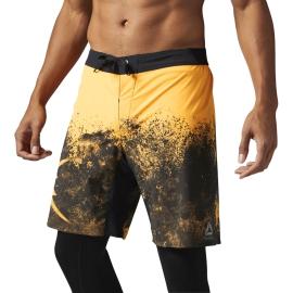 Reebok Pánské šortky SPLATTER FIRSPA - žluté