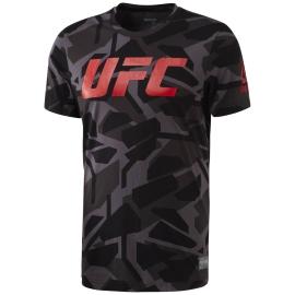 REEBOK Pánské tričko UFC FG SMASH - černé