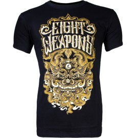 Pánské Muay Thai tričko 8 weapons DEMONFACE - černé