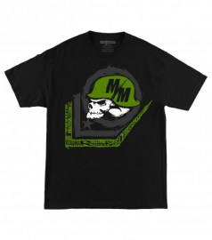 Pánské triko Metal Mulisha SCALE - černá
