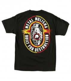Pánské triko Metal Mulisha DESTRUCTION - černá