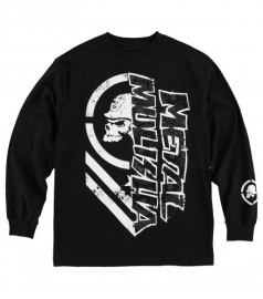 Pánské triko Metal Mulisha BURN L/S - černá