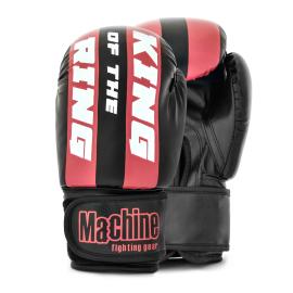 Boxerské rukavice Machine King Of The Ring FAST - černo/červené
