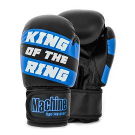 Boxerské rukavice Machine King Of The Ring - černo/modré